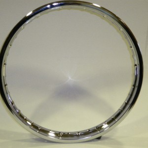 Aro trasero acero inoxidable (WW25010) - Aro para rueda trasera acero inoxidable Evolution 5.5X17 - 1277,62 - 958,90