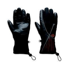 Guante de piel Harley-Davidson Revelation (97386-13VW) Guante piel y nailon waterproof con tecnología Cocona que evita malos olores y humedad.(L-XL) 110