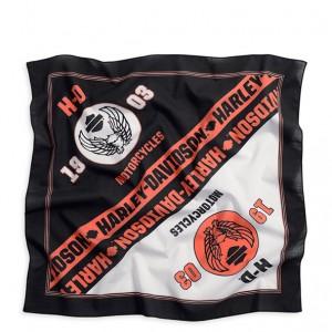 Pañuelo Harley-Davidson Colorblocked (97688-14VM) Gasa de algodón. Dimensiones 53cm x 53 cm -27