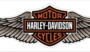 Pegatina Harley-Davidson Straight Wings (GPDC339129) Clasicas alas H-D Dimensiones 45cm x 13cm- 12