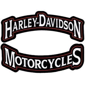 Emblem, Harley Rockers, 3X, Set of 2, 12W x 4 14H  pvp 29 Eur