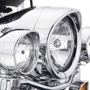 Aro embellecedor Harley-Davidson de colección para el faro - tipo visor