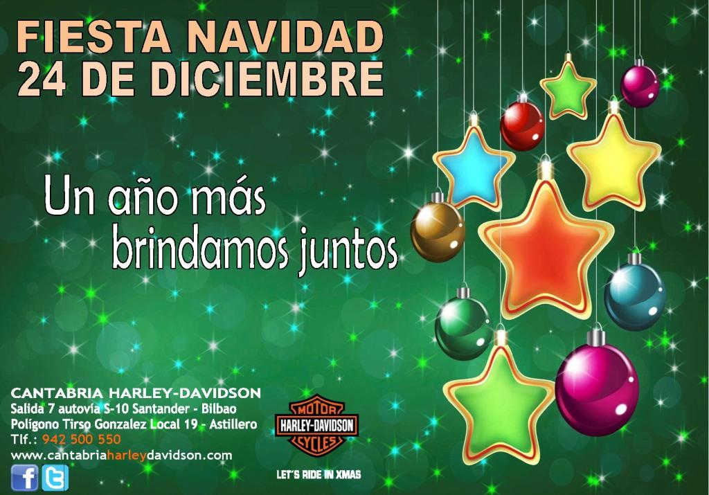 Cantabria harley davidson fiesta navidad 24 de diciembre - Mensajes navidenos para empresas ...