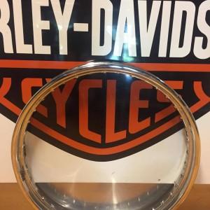 Aro cromado Harley-Davidson para llanta delantera de 21