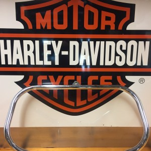 Defensa delantera del motor - Cromada Harley-Davidson