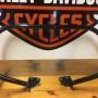 Defensa delantera del motor - Negro brillante Harley-Davidson
