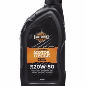 Aceite original Harley-Davidson SAE 20W50 - 1 litro