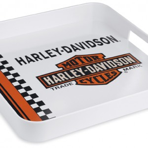 Bandeja Harley-Davidson (96868-13V)  Bandeja cuadrada de melamina.33cm x 33cm -41