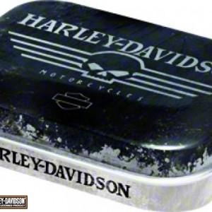 Cajita de caramelos Harley-Davidson Skull (PR81283) Cajita de caramelos de menta de colección-5.50