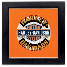 Ceramic Trivet Harley-Davidson (96952-12V) Tabla sobre mantel 20cm x 20cm- 39