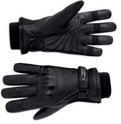 Guantes de Piel Harley-Davidson FXRG (98124-11VW) Guantes de piel waterproof con forro de goretex. Gel en palma para mayor confort y nudillos reforzados (XS-M-L) 129