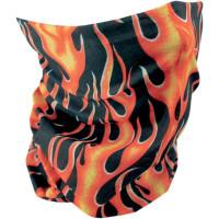 Pañuelo Braga Harley-Davidson Flames ( PED2502-0059) Braga para el cuello y pelo de polyester y algodón.-11