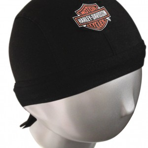 Pañuelo para la cabeza Harley-Davidson (GPPANUELO-HD) Pañuelo de algodón con logo de la marca-19.50