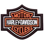 Parche Harley-Davidson Bar&Shield (GPEMB302382) Clásico emblema para coser en cualquier prenda. Dimensiones  11cm x 8,9cm -9