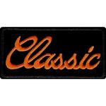 Parche Harley-Davidson Classic (GPEM061642) Clásico emblema para coser en cualquier prenda. Dimensiones  11cm x 5cm -9