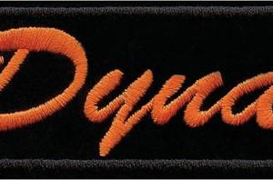 Parche Harley-Davidson Dyna (GPEM676062) Parche clásico para coser en cualquier prenda Dimensiones 11cm x 5cm -9