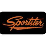 Parche Harley-Davidson Sporster (GPEMB062643) Clásico emblema para coser en cualquier prenda. Dimensiones  11cm x 5cm -9
