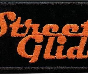 Parche Harley-Davidson Street Glide (GPEM647062) Emblema Street Glide apto para coser en cualquier prenda Dimensiones 11cm x 5cm -9