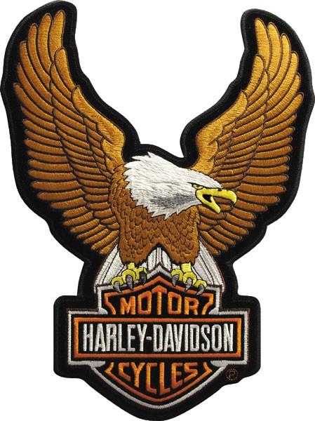 Parche Harley-Davidson Uowing Eagle 29bdfd44027dc