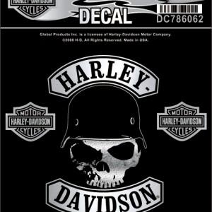 Pegatina Harley-Davidson Spike (GPDC786062) Lámina con diferentes pegatinas. Dimensiones de la lámina3 5#Uf02216#Uf020 W x 4 5#Uf0228#Uf020 H-9