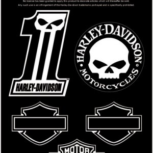 Pegatinas Harley-Davidson Midnight (GPDC1246 ) Hola de pegatinas variadas. Colección Skull. Medidas 11cm x 17cm- 9.68 Eur