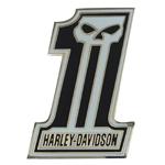 Pin Harley-Davidson Skull Silver (GPP718883) Pin de la colección Skull color plata y esmaltado-10