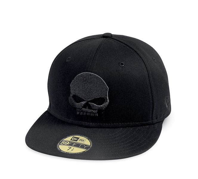 Gorra Harley-Davidson 59 Fifty Skull Baseball ea813467c68