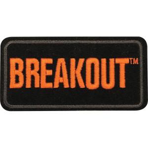 Emblem, Breakout, SM, 4 W x 2 H