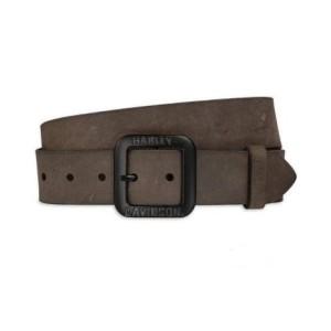 Cinturón Harley-Davidson® Leather Belt - Brown