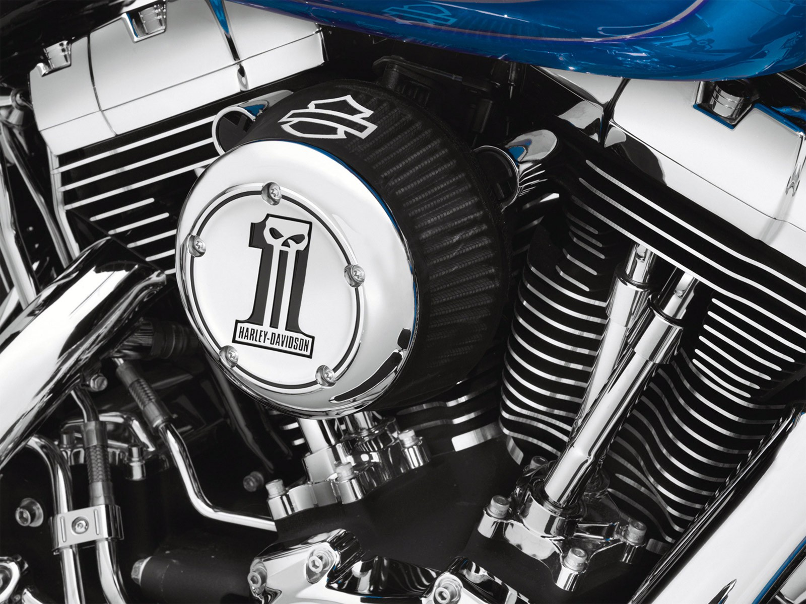 Abrazadera Filtro de Aire Screamin Eagle Harley Davidson