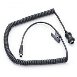 Cable largo de auriculares de comunicaciones