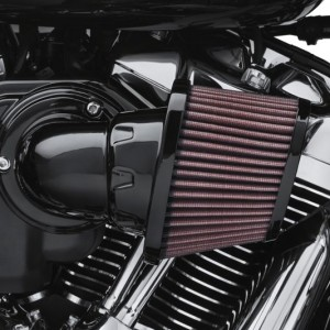 Filtro de aire Screamin Eagle Heavy Breather Performance Negro – Motor Milwaukee-Eight