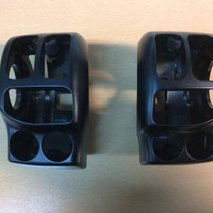 Kit de carcasas de piñas - acabado negro satinado