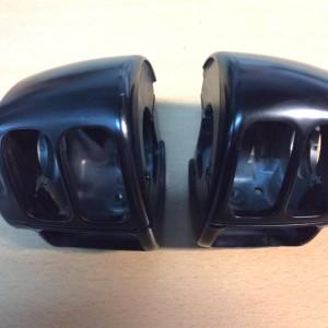 Kit de carcasas para piñas - acabado negro satinado