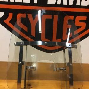 Parabrisas Harley-Davidson compacto de desmontaje rápido