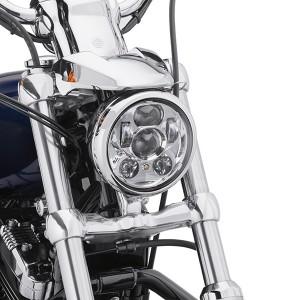 """Faro Led Daymaker Harley-Davidson 5-3/4"""" cromado"""