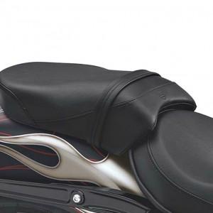 Asiento del acompañante - Estilo liso Harley-Davidson Dyna
