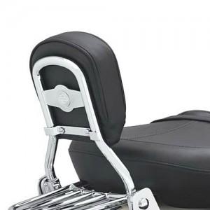 Arco de respaldo del asiento trasero bajo con barra redonda - Cromado