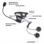 Auriculares Boom! Audio 20S EVO Bluetooth para Casco