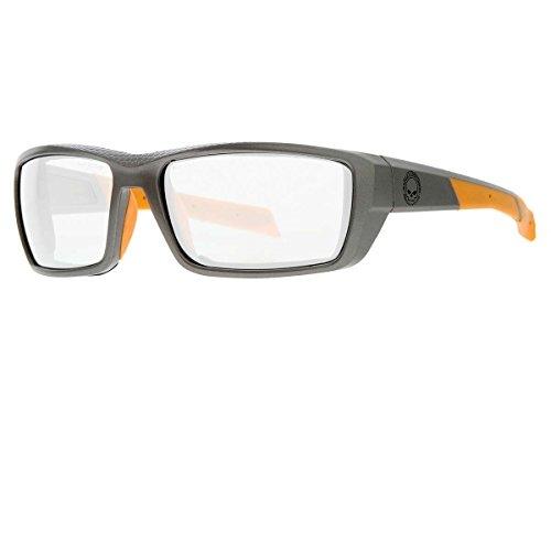 8ba81b8589 Gafas Harley-Davidson Men's Cruise Day-Night Sunglasses, Willie G Skull,  Gray Frame