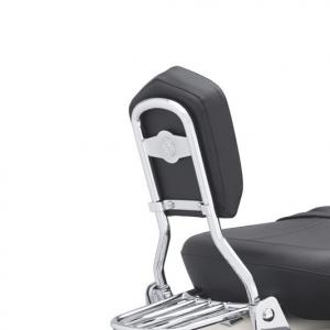 Arco de respaldo del asiento trasero estándar con barra redonda - Cromado