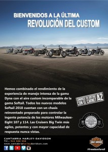 gama softail 2018 - cartel