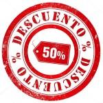 -50 % para la web