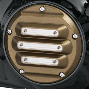Tapa de embrague derby cover Harley-Davidson colección Dominion - Bronze