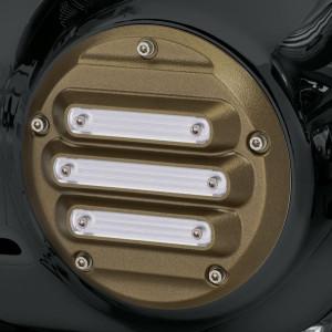 Tapa de embrague derby cover Harley-Davidson colección Dominion – Bronze