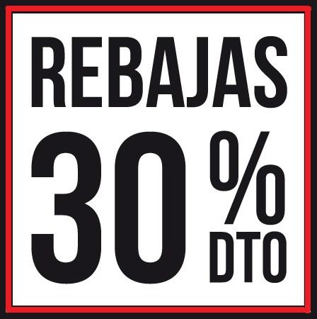 Rebajas 30%