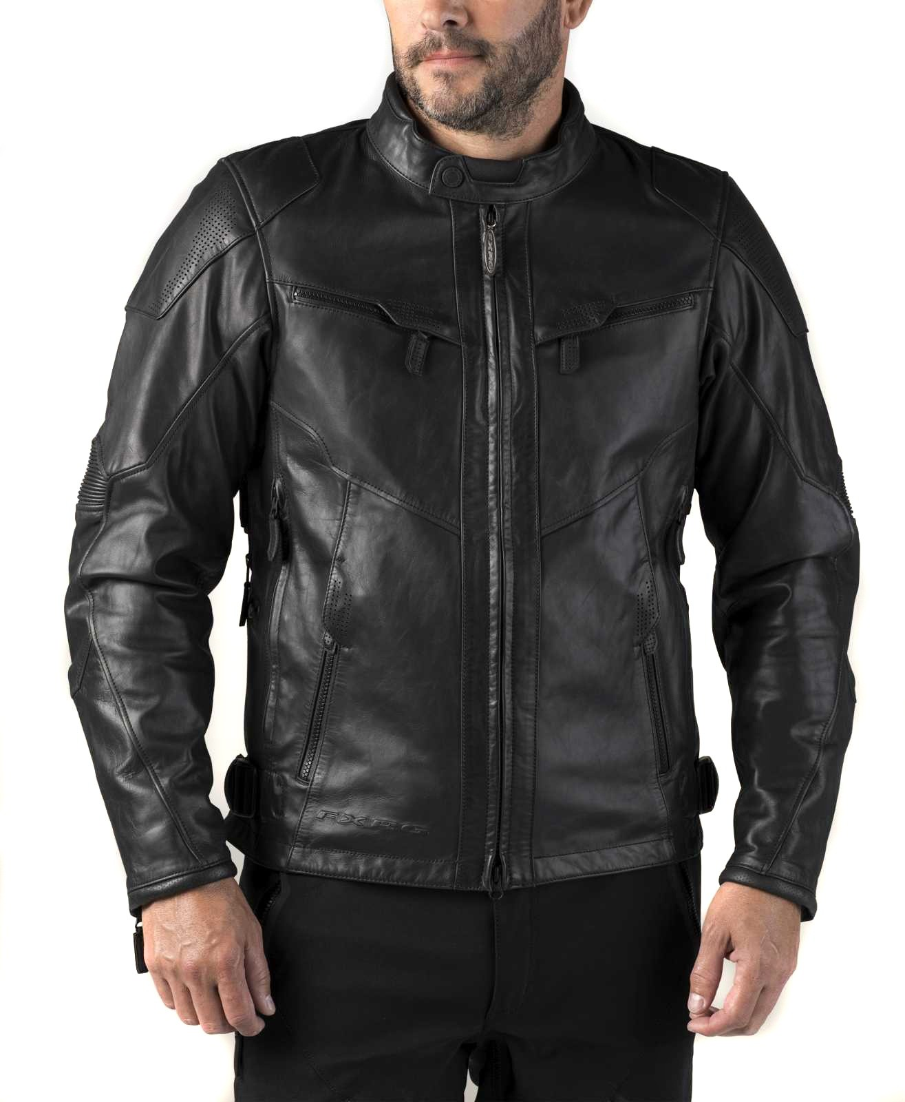 Cazadora Hombre Harley Davidson Fxrg Triple Vent System Leather Jacket Waterproof Ce