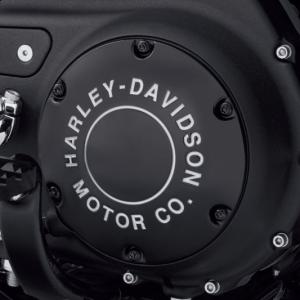 Tapa de embrague derby cover H-D Motor CO. Gloss Black