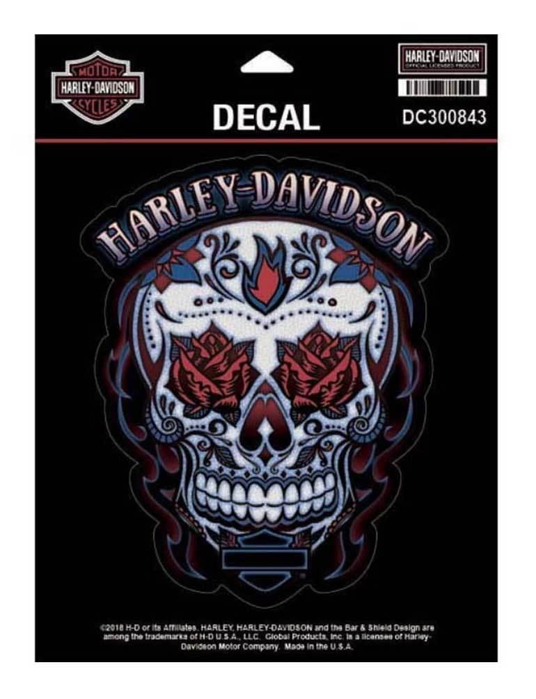 Pegatina Harley-Davidson® Muertos Skull ff7155e428c78