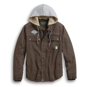 Cazadora hombre Harley-Davidson® Men Zip-Off Hood Workwear Jacket